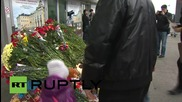 Russia: Tributes pour in for flight 7K9268 victims at Pulkovo Airport