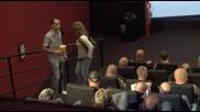 148 рокери в киното и само 2 места в средата. Ти Би Ли Седнал?:d