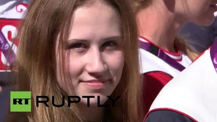 Azerbaijan: Putin wishes luck to the Russian delegation at the European Games