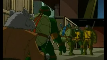 Tmnt ep45 - Rouge In The House Part 1 - Костенурките нинджа 2003 - 2007