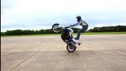 Mattie Griffin's F800r stunt bike