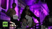 Хиляди на протест в Аржентина против насилието срещу жени