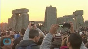 Pranksters Use Old Fridges to Rereate Stonehenge
