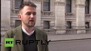 UK: Union Jacks at half-mast in London after Tunisian hotel attack