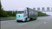 2025/ Бъдещият товарен камион от Mercedes- Benz задвижвайки се самостоятелно