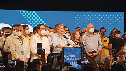 Ecuador: Former banker Guillermo Lasso wins presidential election