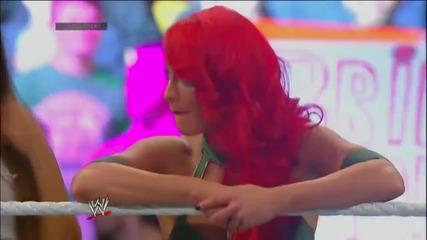 The Total Divas vs. The True Divas | Wwe Survivor Series 2013