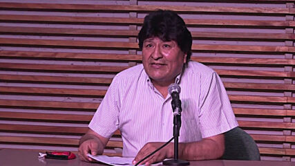 Argentina: Evo Morales celebrates as exit polls suggest Luis Arce to be Bolivian president