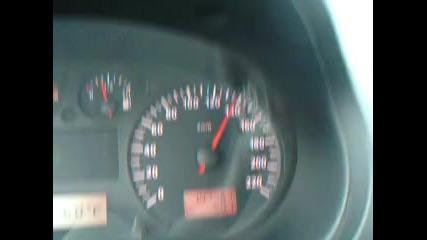 Със 140 км/ч с ибиза извънградско