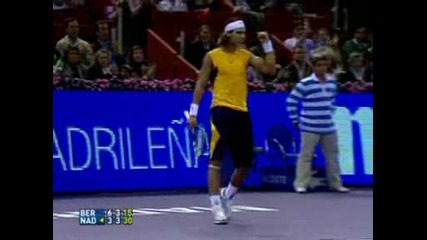 Berdych Nadal Madrid 2006