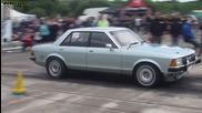Ford Granada V8 vs Haybusa Turbo Dax Rush