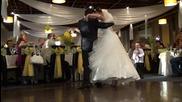 Хриси и Ники първи сватбен танц