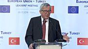 Юнкер: Аз съм гарант, че преговорите за Турция в ЕС ще продължат