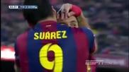Barcelona 5:0 Cordoba (20.12.2014)