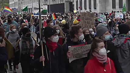 Germany: 'Fridays for Future' protesters rally in Berlin's climate demo