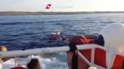 Италианската брегова охрана спаси оцелели от
