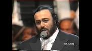 Elton John & Luciano Pavarotti ~ Live like horses