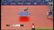Тенис на маса - лоб техника