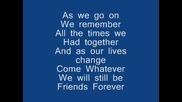 Graduation (friends Forever)lyrics - Vitamin C