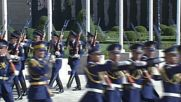 Azerbaijan: Aliyev welcomes Pope Francis to Baku with military honours