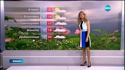 Прогноза за времето (26.06.2015 - централна)