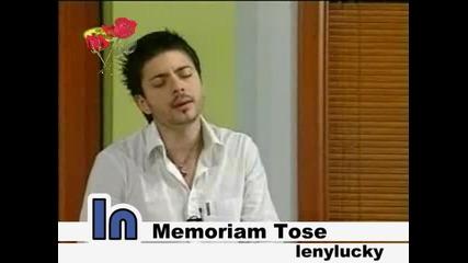 Tose Proeski - Jano Mori - Яно мори