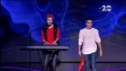 Иво и Пламен - X Factor Live (04.12.2014)
