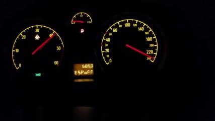 Ускорение на Opel Astra H 1.9 cdti 260 hp