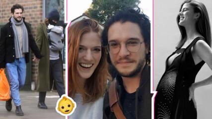 """Кит Харингтън и Роуз Лесли станаха родители! Звездите от """"Игра на тронове"""" - """"много, много щастливи"""""""
