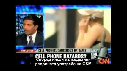Мобилните телефони и Wi-fi причиняват рак
