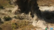Чистене на минно поле в Афганистан