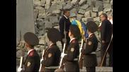 В Украйна беше открит мемориал за жертвите на Сталин