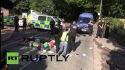 UK: Pro-Palestine activists blockade Israeli arms factory, arrests made
