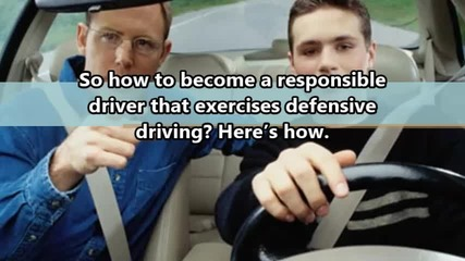 The Basics of Defensive Driving You Need to Know