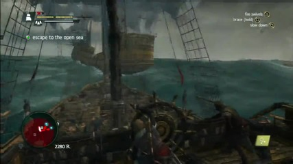 Смъртта на Blackbeard- Assassin's Creed 4 Black Flag