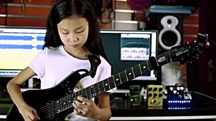 China Girl Liu Pinxi aka Yoyo Plays Mindblowing Guitar Ages 8 -10 - Youtube