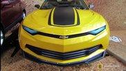 2015 Chevrolet Camaro Prototype from Transformers 4 Movie-exterior Walkaround-2014 Ny Auto Show