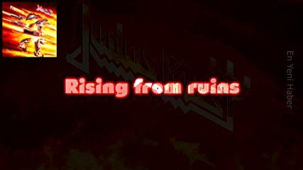 Judas Priest - Rising From Ruins / Lyric Video + превод/