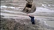 В плен на руската кал!