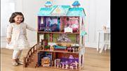 Дървена къща за кукли - Елза от Замръзналото кралство