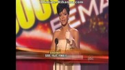 Rihanna Печели 2 Награди На Mtv Ama 2008
