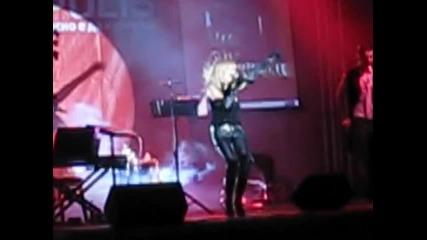 Лили Иванова пее на откриване на Технополис - София - 2ра част