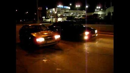 Mazda 323 Bf - Turbo 4x4 vs. Bmw E39 520