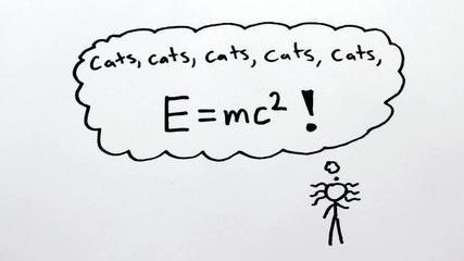 Доказателство на теорията на Айнщайн ( E=mc'2 )