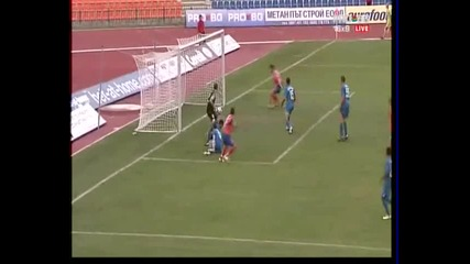 Сливен - Левски 1 - 1 гола на Сливен