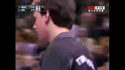 Ma Lin Vs Timo Boll 2005 World Cup Част 3