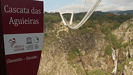 A bridge too far? World's longest pedestrian suspension bridge to open in Portugal