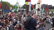 USA: Dozens of activists arrested during fifth day of climate protests in DC