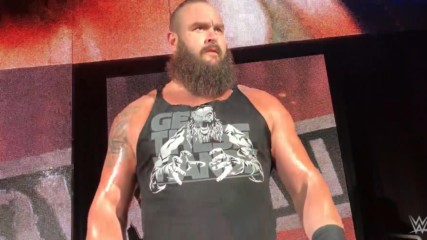 Braun Strowman's Monster-sized entrance at WWE Live in Frankfurt, Germany