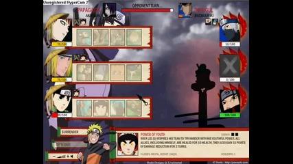 Naruto-arena testing Namikaze Minato